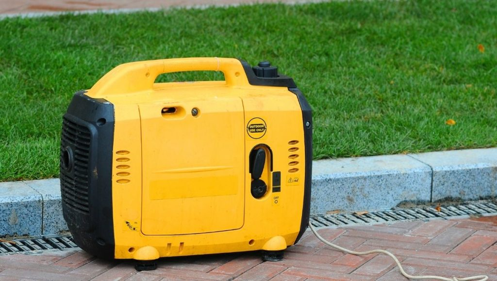 A fuel powered generator, one of the best generator for camping