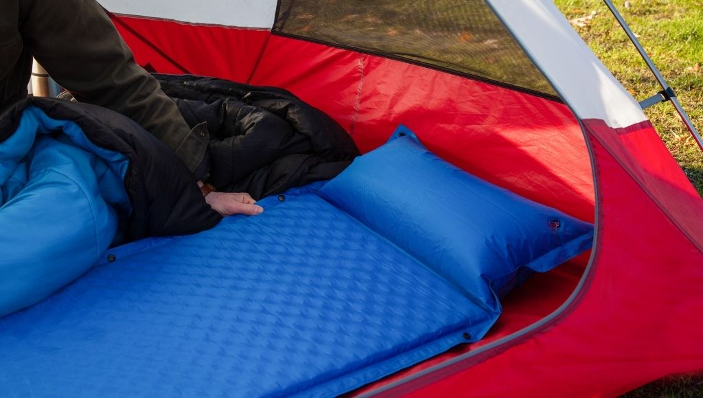 Mattress pad can provide that bed like comfort when you sleep in camping