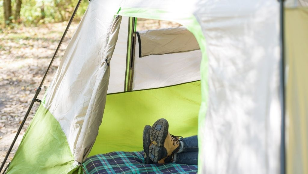 Air mattresses can provide that bed like comfort when you sleep in camping