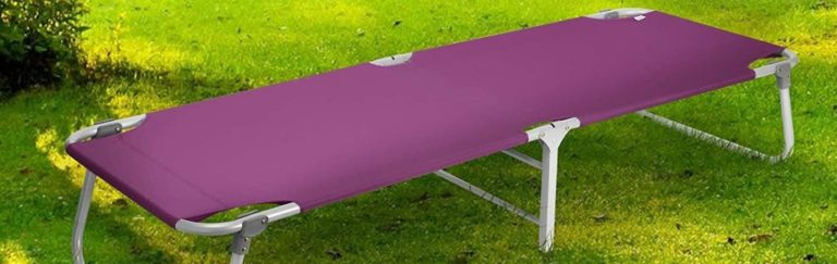 Best camp cots for a large person